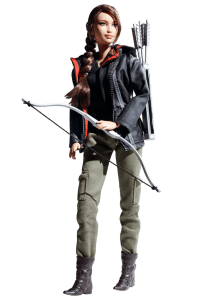 The Katniss Barbie is in production.