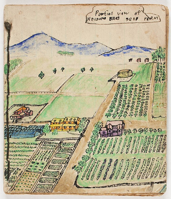 Nelson Brothers seed catalog, undated. Amherst College Archives & Special Collections.