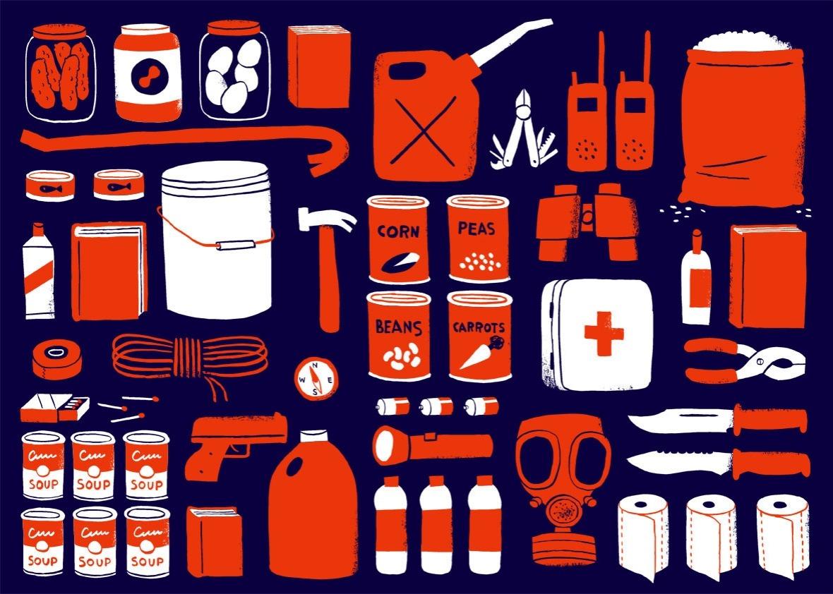 Illustration by John Martz for Slate.com.